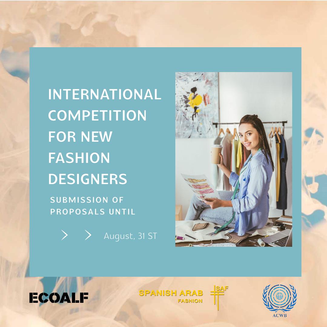 Art & Culture without Borders y la Fundación ECOALF convocan un concurso para jóvenes diseñadores de moda