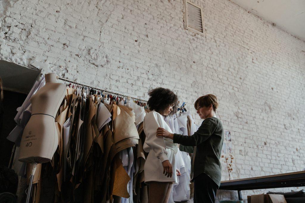 Concurso de diseñadores de la moda