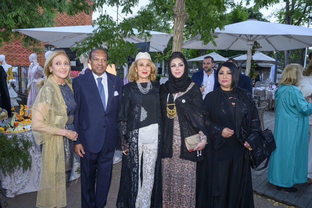 Soumaya Akbid, presidenta de  Art & culture without borders en Fiesta Arabe a beneficio de la fundacion