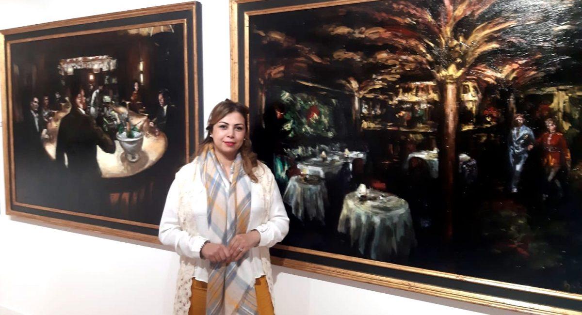 Soumaya Akbib and the works of Tomas BAletzena